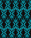 Seamless turquoise blue wallpaper  Royalty Free Stock Images