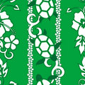 Seamless Turtle Pattern Stock Images