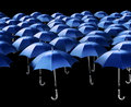 Seamless Umbrellas Stock Image