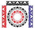 Seamless uzbek traditional pattern Stock Image