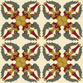 Seamless Vajra pattern Stock Photography