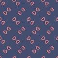 Seamless valentine Love Heart Pattern