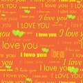 Seamless valentine pattern Stock Photos