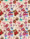 Seamless Valentine's Day pattern Royalty Free Stock Photos