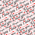 Seamless valentine wallpaper Royalty Free Stock Photo
