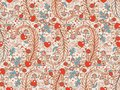 Seamless valentines decor pattern with flowers Royalty Free Stock Photography