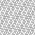 Seamless vector abstract pattern grey symmetrical geometric repeating background with decorative rhombus series of Royalty Free Stock Photo
