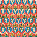 Seamless vector background pattern in western style Stock Photography