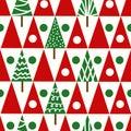 Seamless Vector Christmas Patt...