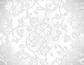Seamless vector decorative floral wallpaper and background Royalty Free Stock Photography