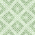 Seamless vector geometric pattern. Green pastel background with decorative ornament Royalty Free Stock Photo