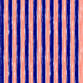 Seamless vector grunge geometrical pattern with hand drawn lines. Endless background with horizontal stripes Graphic design, grung