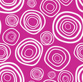 Seamless vector handdrawn purple circle texture Stock Image
