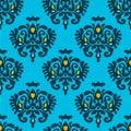 Seamless Vector Heraldry pattern Royalty Free Stock Photo