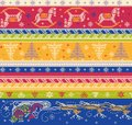 Seamless vector knitted pattern eps illustration Royalty Free Stock Photos