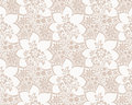 Seamless vector luxurious floral wallpaper Stock Photos