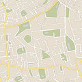 Seamless vector map Royalty Free Stock Photography