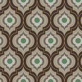 Seamless vector moroccan trellis pattern in sand and brownc colors