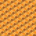 Seamless vector pattern - arrows Royalty Free Stock Image