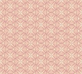 Seamless vector pattern with beige floral theme Royalty Free Stock Photography