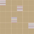 Seamless vector pattern. Ceramic tiles.