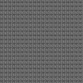 Seamless vector pattern. Dark grey geometrical background with hand drawn squares. Royalty Free Stock Photo