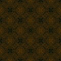 Seamless vector pattern decorative overlapping shapes organic brown colors texture web print spring fashion fabric textile Stock Photos