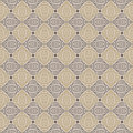 Seamless vector pattern decorative shapes organic brown colors texture web print spring fashion fabric textile background wedding Stock Images