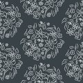 Seamless vector pattern floral print.