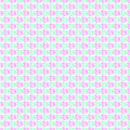 Seamless vector pattern. Green and pink geometrical background with hand drawn squares.