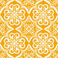 Seamless vector pattern illustration of a s wallpaper Stock Images
