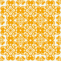 Seamless vector pattern illustration of a s wallpaper Royalty Free Stock Image