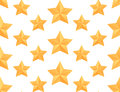 Seamless vector pattern with paper origami stars