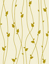 Seamless vector pattern with spring branches. Royalty Free Stock Photo