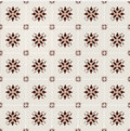 Seamless vector retro background brown tiles Stock Photos