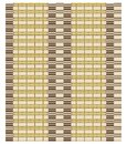 Seamless vector texture of bamboo curtain or thatched table mat. Royalty Free Stock Photo