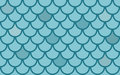 Seamless vector texture with fish scales Stock Images