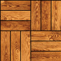 Seamless vector texture - parquet Stock Photos