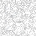 Seamless vector texture- time gears Royalty Free Stock Images