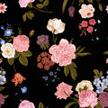 Seamless vector vintage pattern Royalty Free Stock Photo