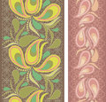 Seamless Vertical Lace Pattern...