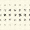 Seamless Vertical Stripe and Dot Pattern. Vector Monochrome Back