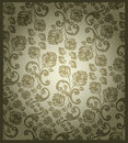 Seamless victorian rose pattern Royalty Free Stock Photos