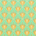 Seamless vintage background green Stock Photography
