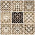 Seamless vintage backgrounds baroque wallpaper Royalty Free Stock Image