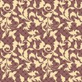 Seamless vintage floral background Royalty Free Stock Images