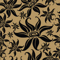 Seamless vintage floral pattern Royalty Free Stock Image