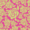 Seamless vintage floral pattern with roses Royalty Free Stock Image