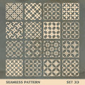Seamless vintage pattern abstract background great collection Royalty Free Stock Photos