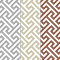Seamless vintage retro modern pattern Stock Photography